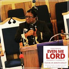 Our Pastor, Dr. Bernita Wright preached a powerful word du…   Flickr