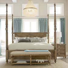 four poster canopy bed solid