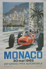 Shop for vintage ferrari art prints from our community of independent artists and iconic brands. F1 Monaco Poster