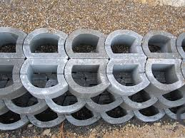 Small Picture Hollow concrete block for retaining walls exposed LOCKSTONE
