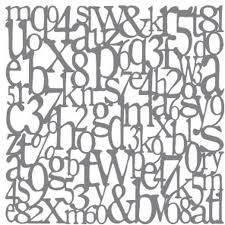 Stencil Letters Decoart Stencil Alphabet 8 Inches Hobbycraft