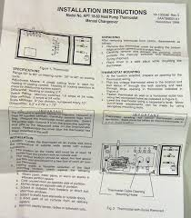 hpt18 60 goodman heat pump thermostat with emergency heat king goodman hpt18-60 thermostat at Janitrol Hpt18 60 Thermostat Wiring Diagram