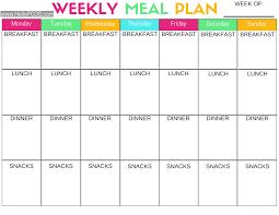 Blank Diet Chart Printable Pcos Diet Chart Bedowntowndaytona Com