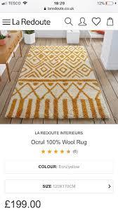 100 wool rug