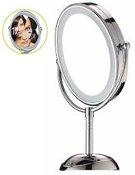 cord cordless double sided illuminated led mirror fast shipping