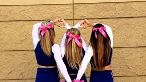 cheerleading hair and more