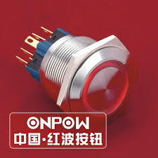 popular steel push button buy cheap steel push button lots from onpow 25mm 12v red led ring illuminated waterproof stainless steel push button switch gq25