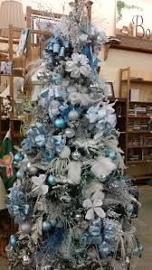 Gorgeous Ice Blue Themed Christmas Tree | Holidays | Pinterest | Christmas  tree, Blue christmas and Christmas decor