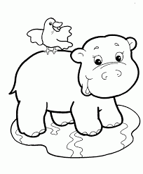 Small Picture Baby Jungle Animals Coloring Pages Spencers 1st birthday