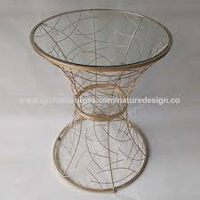 china round coffee table glass table top gold metal frame shaped like top