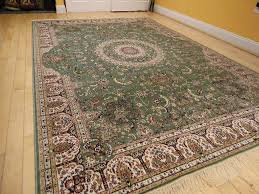 details about silk persian rugs tabriz rug 9x12 green area rugs 5x8 rug 2x12 long runners