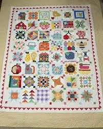 Farm girl vintage quilt by Lori Holt. I use bonus blocks still ... & Farm girl vintage quilt by Lori Holt. I use bonus blocks still used all the Adamdwight.com