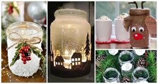 Mason Jar Decorating Ideas For Christmas Of The Best Mason Jar Projects 77