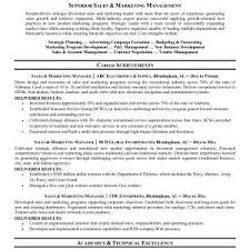 Sample Resume For Sales And Marketing Engineer Archives Onda