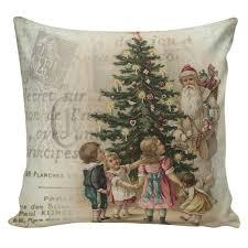 Elliott Heath Designs Amazon Com Celycasy Christmas Pillow Holiday Pillows French
