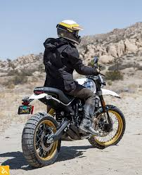 2017 ducati desert sled gets dirty italian style rideapart