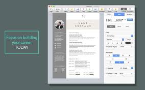 app resume resume cv templates for pages on the mac app store with pages