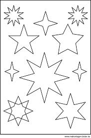 Diese können sie wahlweise zur dekoration und als schablone für ihre plätzchen nutzen. Sternenvorlage Zum Ausdrucken Und Ausschneiden