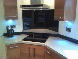 Black Splashback Kitchen Glass Splashbacks Klg Glass