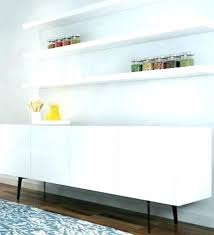 long white floating shelves floating cabinets long white floating shelves clean white floating shelves above long