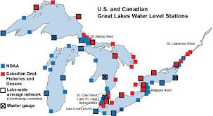 Lake Huron Water Levels Historical Chart Record Increase In Great Lakes Water Levels Great Lakes Region