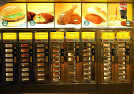 Automat Vending Machine Interesting The Craziest Food Vending Machines From Burgers To Wine Thrillist