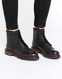 h by hudson lingshaw lace up boot black leather women boots h by hudson celeste western chelsea boots