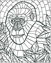 Beautifully Idea Mosaic Coloring Pages Full Size To Print By Number