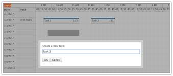 Angular 4 Timesheet Quick Start Project | DayPilot Code