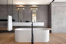A sleek minimal bathroom