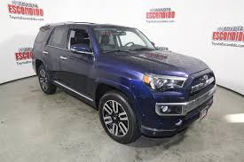 New 2017 Toyota 4Runner Limited Sport Utility in Escondido ...