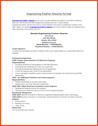 Mba Resume Format For Freshers Pdf Program Format