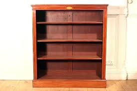 bookcases red bookcase with glass doors antique door bookcases low furniture luxury mahogany do