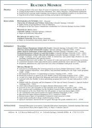 Teaching Sample Resume Science Teacher Resume Examples Examples Of