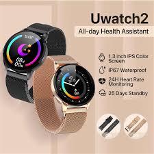 <b>Y16</b> Uwatch2 <b>Smart</b> Watch For Andriod IOS 1.33' Full Touch Screen ...