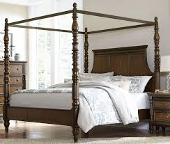 Homelegance Verlyn Cherry Cal. King Canopy Bed - Verlyn Collection ...