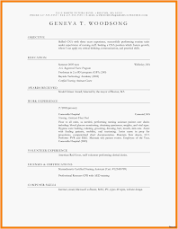 Simple Easy Resume Templates Unique 23 Best Simple Resume Sample