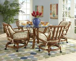 dining room chairs with casters and arms cal chair caster pany pertaining to dining table chairs casters