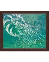 seafoam nautilus framed canvas wall art seafoam nautilus 11 x 14 x 1 on seafoam green canvas wall art with amazing deal on seafoam nautilus framed canvas wall art seafoam