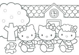 Baby Hello Kitty Coloring Pages Hello Kitty Coloring Pages Free