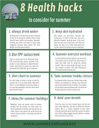 8 Proven Summer Health Hacks To Stay Healthy Lose Weight