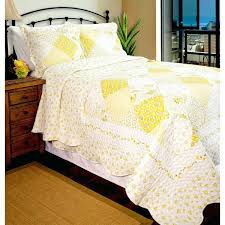 country rosewood cottage quilt pattern 3pc yellow fl country cottage shabby chic vintage bedding king quilt
