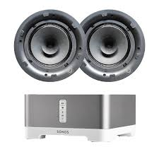 sonos connect amp q acoustics qi65cb ceiling speakers package