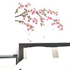 cherry blossom wall decor cherry blossoms wall decor blossom tree wall decal cherry blossom branch wall