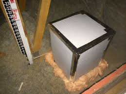top hat insulation for sealing recessed lights