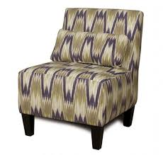 armless accent chair living room
