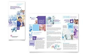 Patient Brochure Templates Cancer Treatment Tri Fold Brochure Template Word Publisher