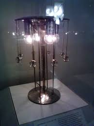 table lamp by josef hoffman at the metropolitan museum in new york city
