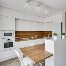 Kitchens with white appliances Ivory Midsized Contemporary Open Concept Kitchen Inspiration Open Concept Kitchen Midsized Little House Of Could 75 Most Popular Kitchen With White Appliances Design Ideas For 2019
