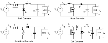 Dc Dc Converter Design Examples Analysis Of Four Dc Dc Converters In Equilibrium Technical